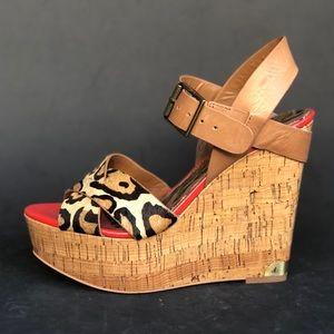 SAM EDELMAN wedge sandals 👡